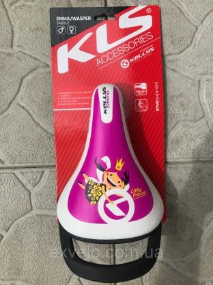 Седло детское KLS EMMA пурпурное