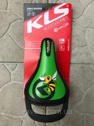 Седло детское KLS WASPER зеленое