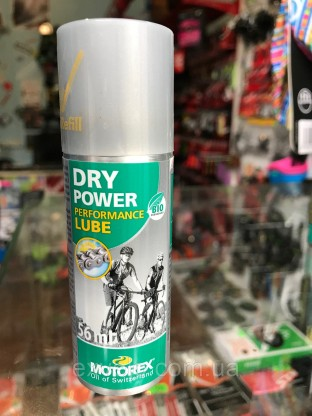 Масло-спрей Motorex Dry Power 56 мл
