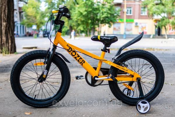 """Велосипед RoyalBaby BULL DOZER 18"""" черный"""
