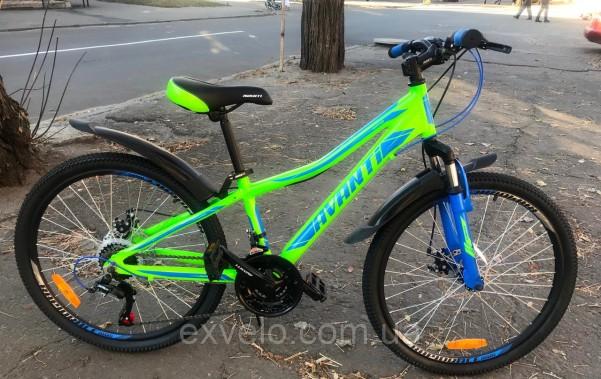 "Велосипед подростковый Avanti Rapid 24"" 2018 цвета"