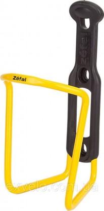 Флягодержатель Zefal Aluplast облегченный желтый