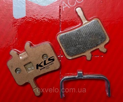 Тормозные колодки KLS D-02s для Avid Juicy полуметалл