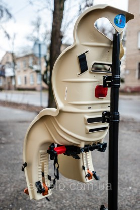 Детское велокресло на багажник HTP Sanbas P