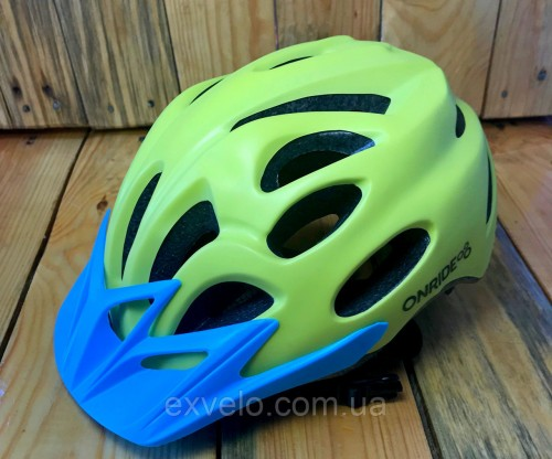 Шлем OnRide Slide желтый матовый