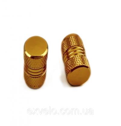 Колпачки на ниппель Kombi золото 2 шт