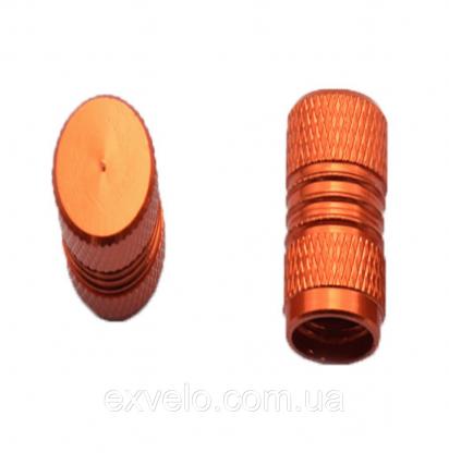 Колпачки на ниппель Kombi оранжевый 2 шт
