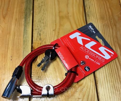 Велозамок KLS BEAT красный