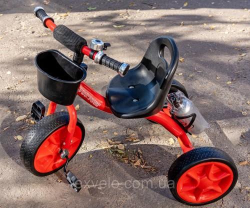 Велосипед трёхколёсный Crossride TwoFour синий