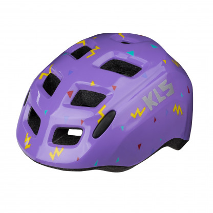 Шлем детский KLS Zigzag цвета