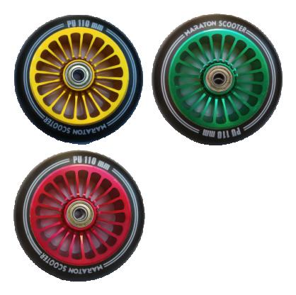 Колеса для самокатов Maraton алюминий 110 мм