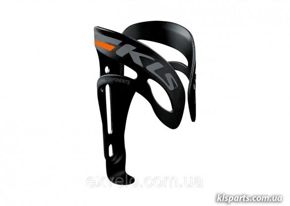 Флягодержатель KLS SQUAD черный/оранжевый