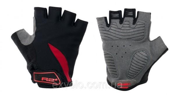 Перчатки для подростков R2 VICKY черно-красные