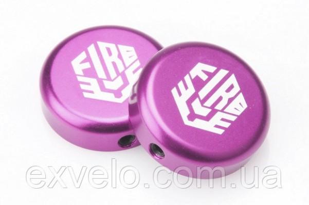 Заглушки руля FireEye фиолетовый