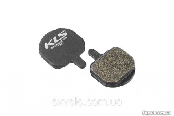 Тормозные колодки KLS D-08 для Hayes Sole/KLS Helix 3 органика