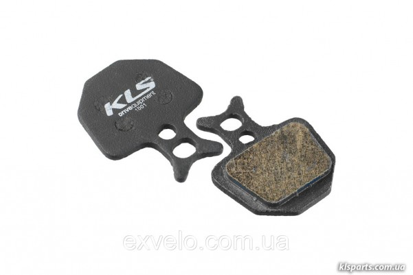 Тормозные колодки KLS D-09 для Formula ORO органика