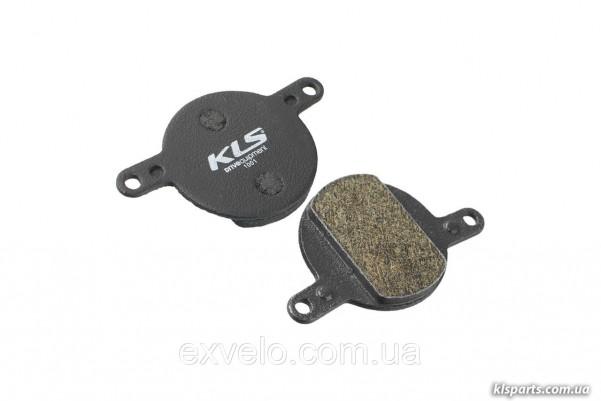 Тормозные колодки KLS D-12 для Magura Julie органика