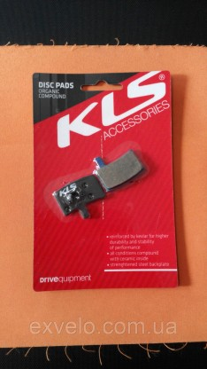Тормозные колодки KLS D-05 для Hayes Stroker trail органика