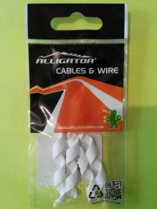 Защита рамы Alligator от трения рубашек Spiral белая