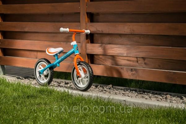 Беговел Alpina Tornado Blue-Orange