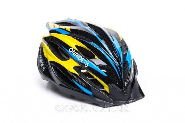 Шлем OnRide Grip черный/красный