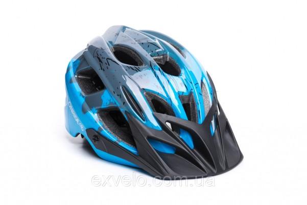 Шлем подростковый OnRide Rider голубой