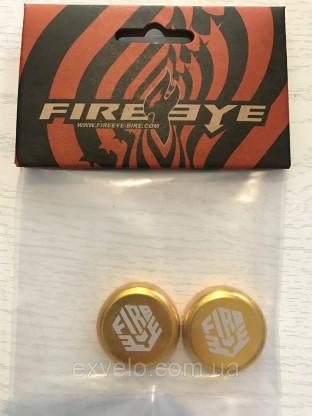 Заглушки руля FireEye золотистый