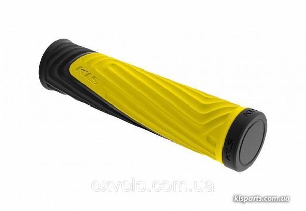 Ручки руля KLS Advancer 17 2Density желтый