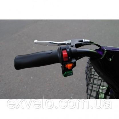 Электровелосипед VEGA ELF 2018 синий, красный