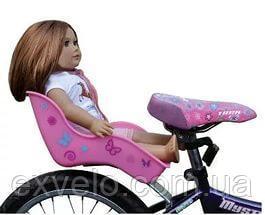 Кресло для куклы/игрушки на детскийвелосипед цвета